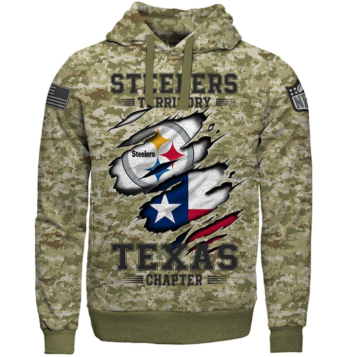 buy online 69c5c 84c07 steelers Territory Texas Chapter - Camo US Navy 3D Print – Free Shipping